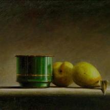 groene-beker-met-peren-40-x-30-cm